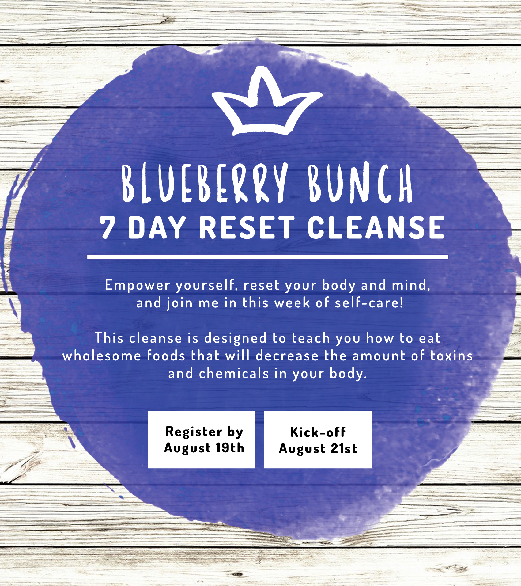 7 Days Reset Cleanse by Blueberry Bunch