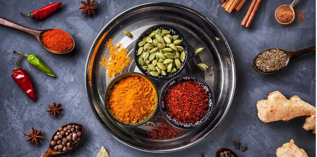 Ayurveda spices for health and healing-blog Blueberry Bunch by Luciana Ferraz