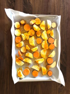 Ready to Bake - Sweet Potato Squash Casserole